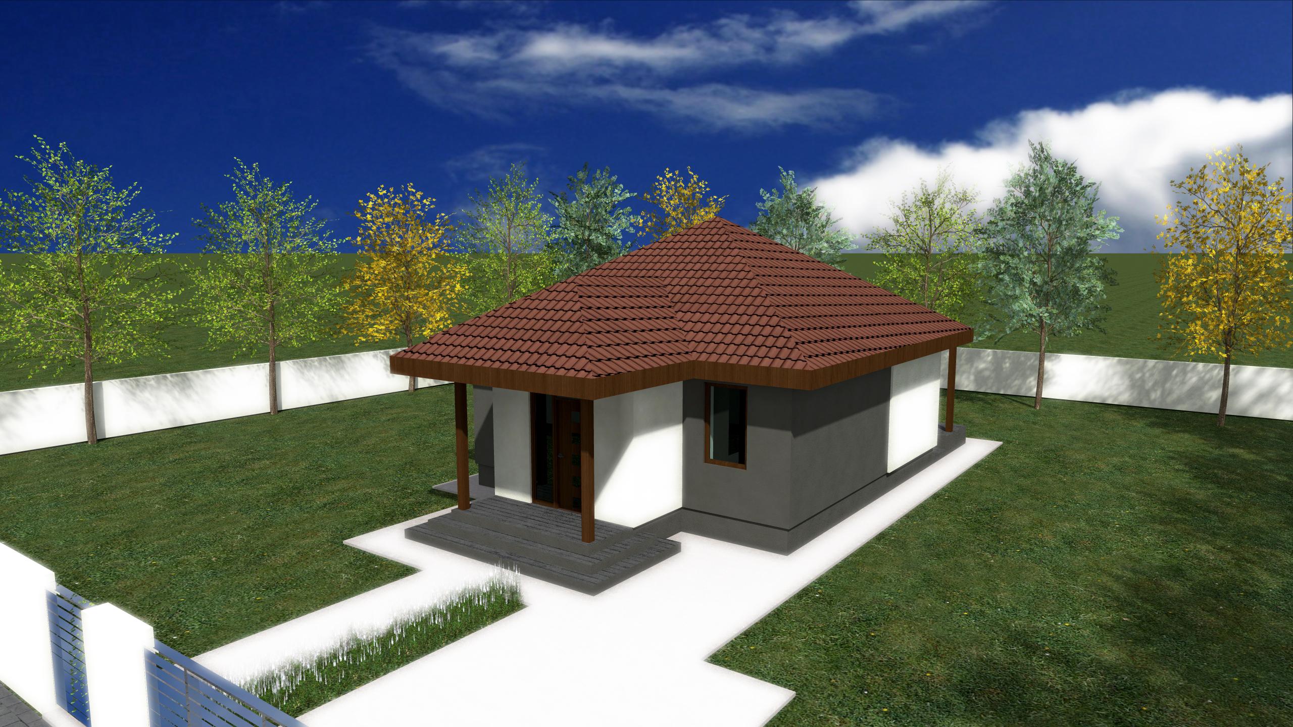 Proiect de casa cu parter 250
