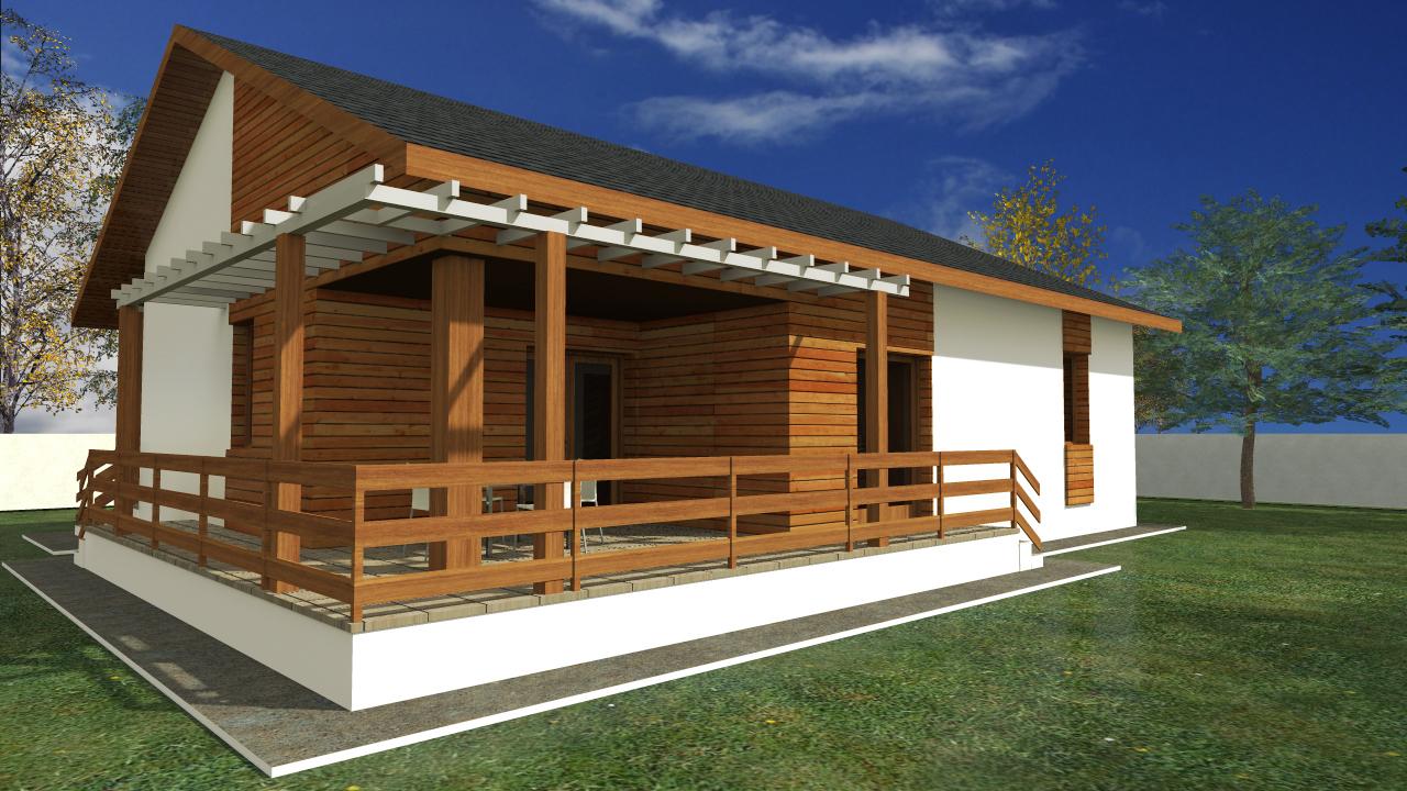 Proiect de casa cu parter 253