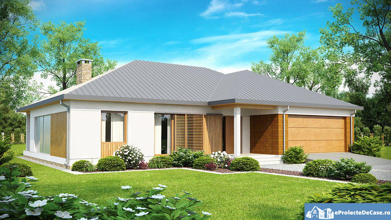 Proiect de casa cu parter 180
