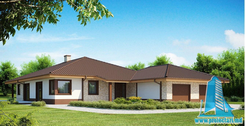 Proiect de casa cu parter 289