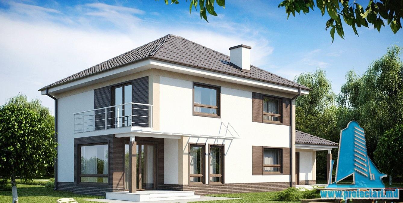 Proiect de casa cu doua etaje 31