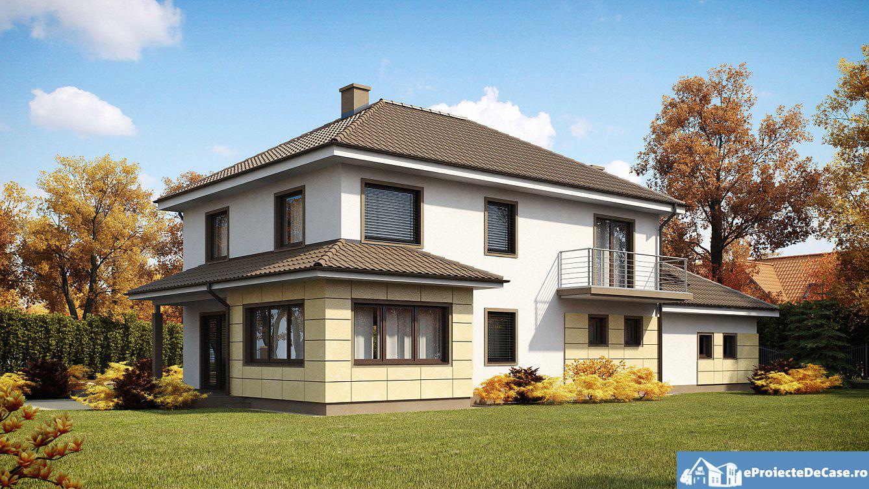 Proiect de casa cu etaj 29 proiectari si constructii for Case cu etaj
