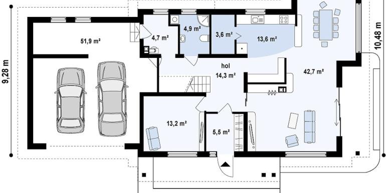 Proiect-casa-cu-Etaj-si-Garaj-e16011-3