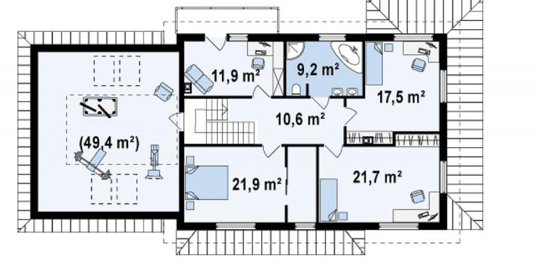 Proiect-casa-cu-Etaj-si-Garaj-e16011-etaj