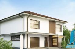 Proiect de casa cu etaj si garaj https://www.proiectari.md/property/proiect-38/