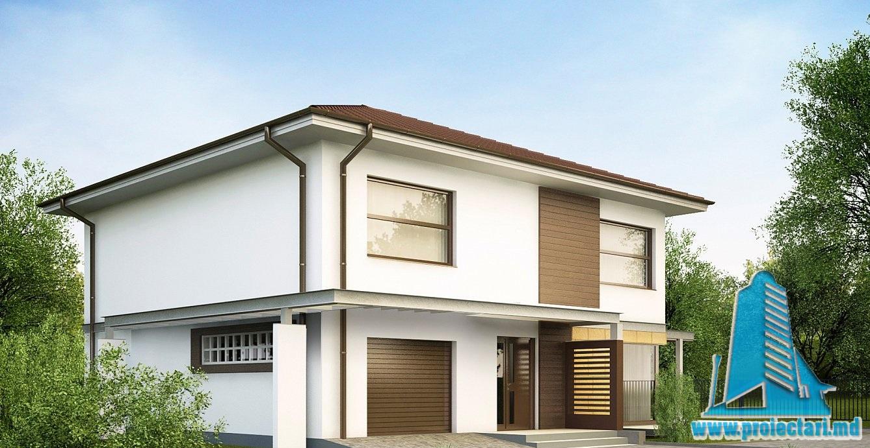 Proiect de casa cu doua etaje 38