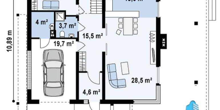 proiect-casa-cu-etaj-si-garaj-e2011-parter