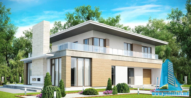 Proiect  de casa cu etaj 28