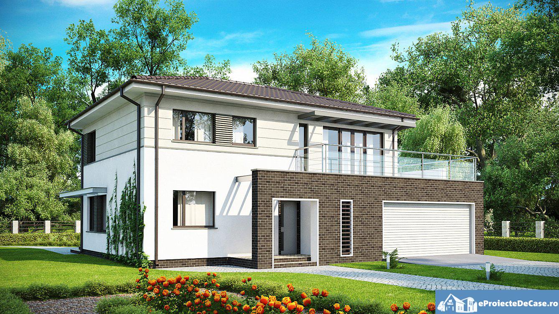 Proiect de casa cu 2 etaje 41