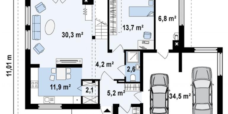 Proiect-casa-cu-Etaj-si-Garaj-e26011-3
