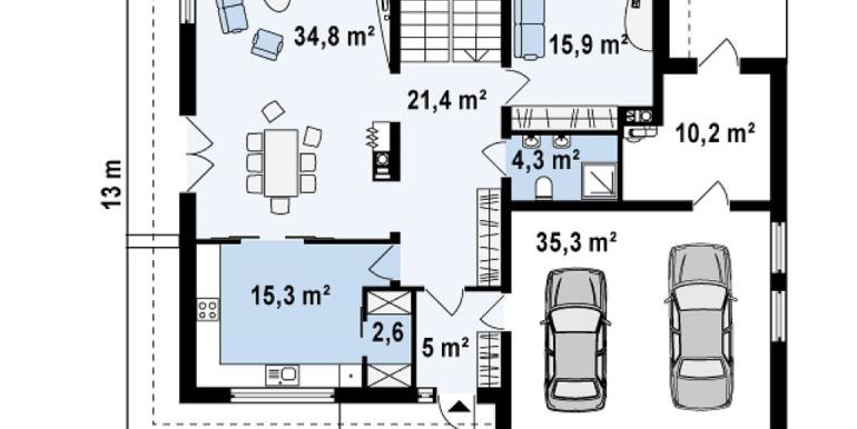 Proiect-casa-cu-Etaj-si-Garaj-e30011-parter