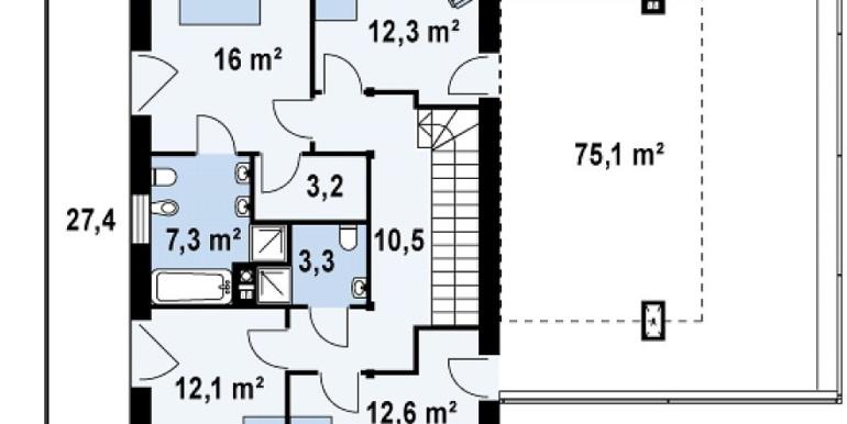 Proiect-casa-cu-Etaj-si-Garaj-e3011-etaj