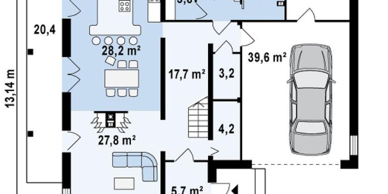 Proiect-casa-cu-Etaj-si-Garaj-e3011-parter