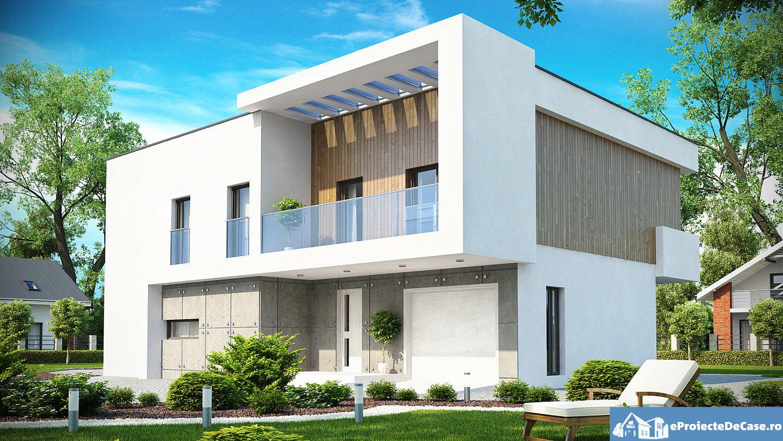 Proiect de casa cu etaj  23