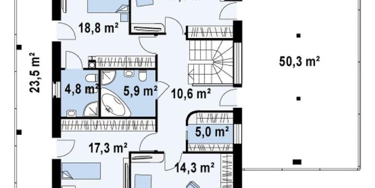 Proiect-casa-cu-Etaj-si-Garaj-e5011-etaj