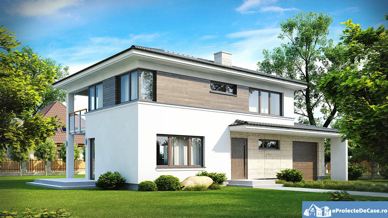 Proiect de casa cu etaj 42