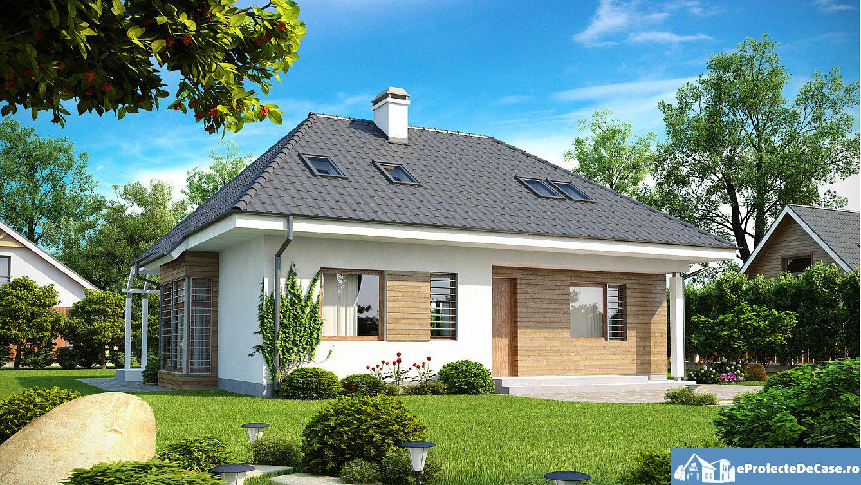 Proiect de casa cu mansarda 158