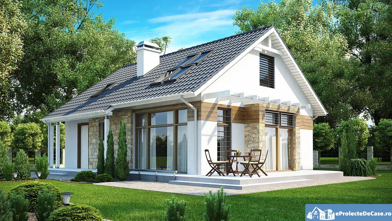 Proiect de casa cu mansarda 198