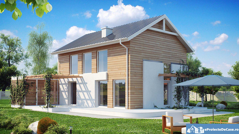 Proiect de casa cu etaj 196