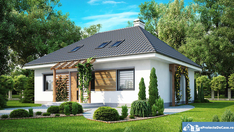 Proiect de casa cu mansarda 192