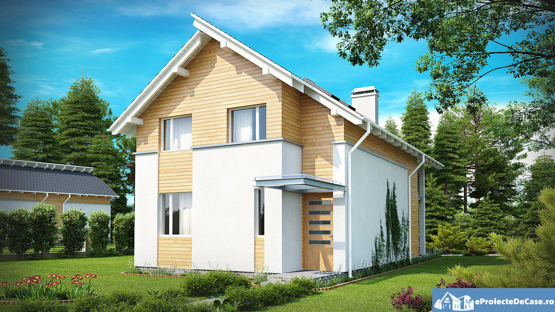 Proiect de casa cu doua etaje 184