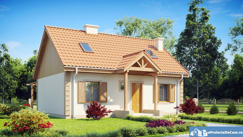 Proiect de casa cu mansarda  226