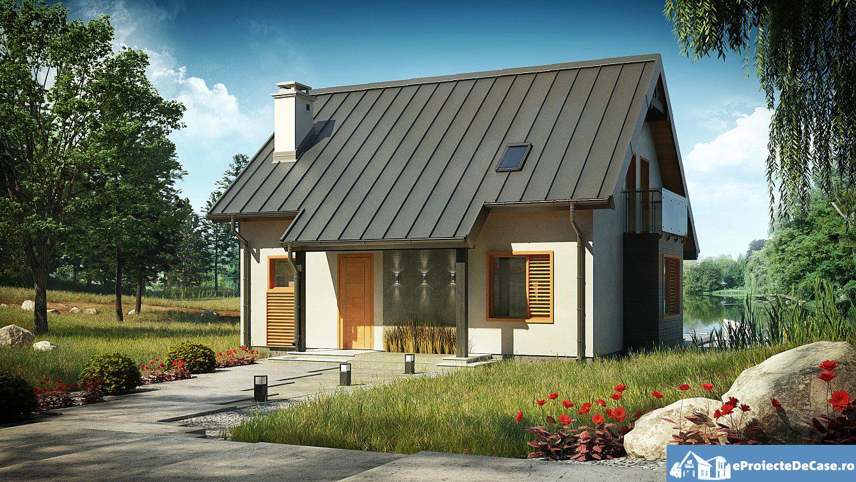 Proiect de casa cu mansarda 177