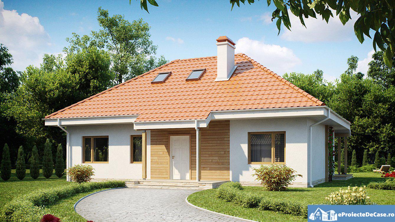 Proiect de casa cu mansarda 149