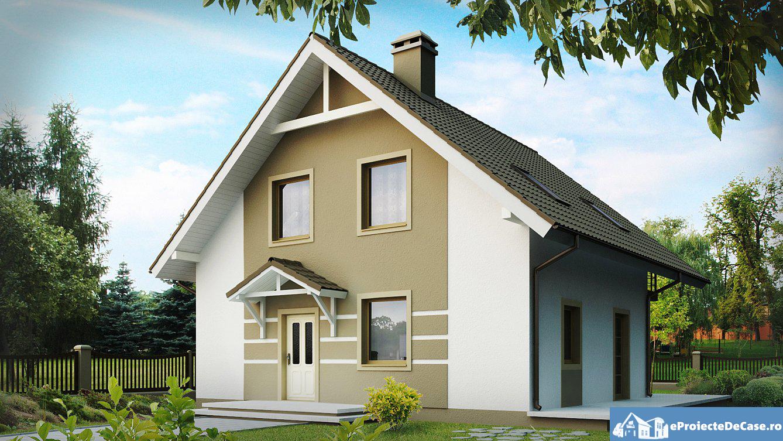 Proiect de casa cu mansarda 213