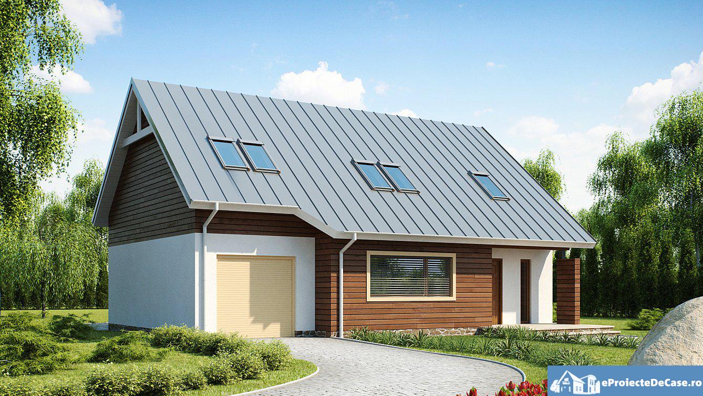 Proiect de casa cu mansarda 209