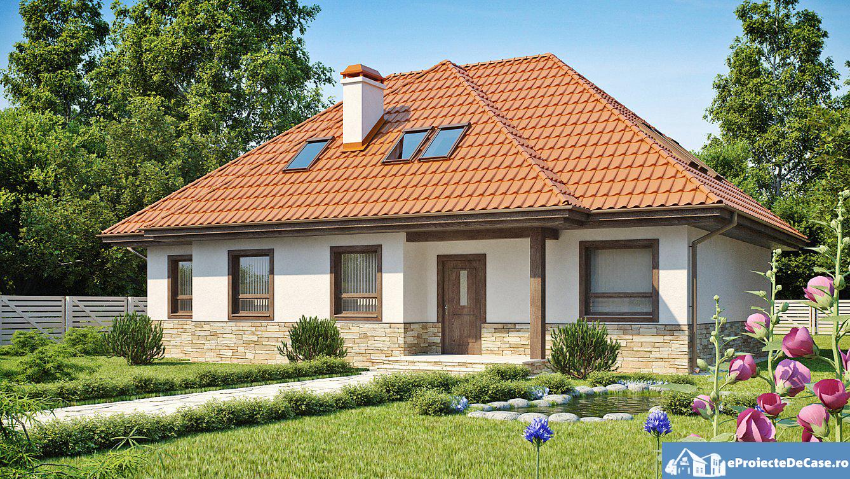 Proiect de casa cu mansarda 134