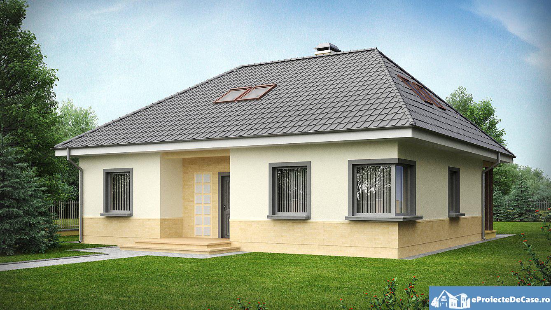 Proiect de casa cu mansarda 133 proiectari si constructii for Youtube case cu mansarda