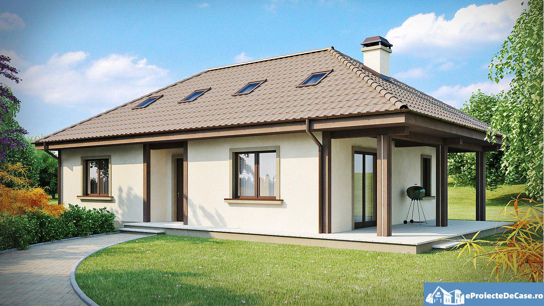 Proiect de casa cu mansarda 207