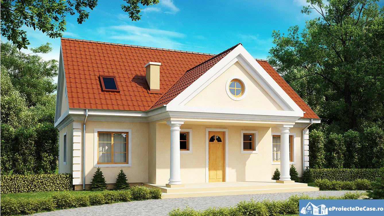 Proiect de casa cu mansarda 143