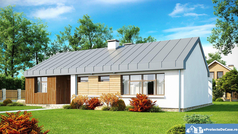 Proiect de casa cu parter 167