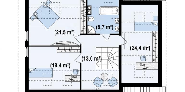 Proiect-casa-cu-Mansarda-si-Garaj-107011-mansarda