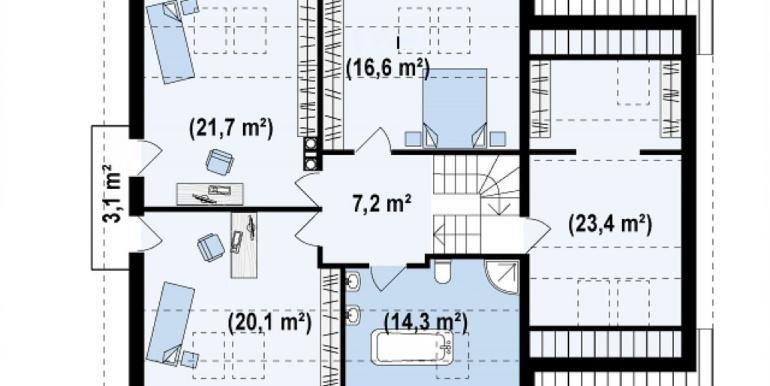 Proiect-casa-cu-Mansarda-si-Garaj-108011-mansarda1