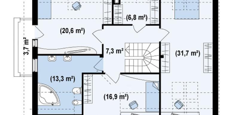 Proiect-casa-cu-Mansarda-si-Garaj-110011-mansarda-1
