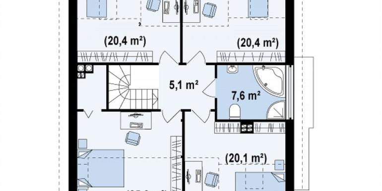Proiect-casa-cu-Mansarda-si-Garaj-116011-mansarda