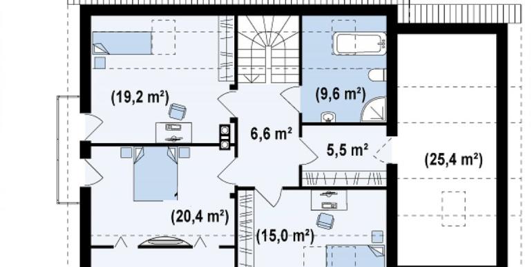 Proiect-casa-cu-Mansarda-si-Garaj-120011-mansarda1