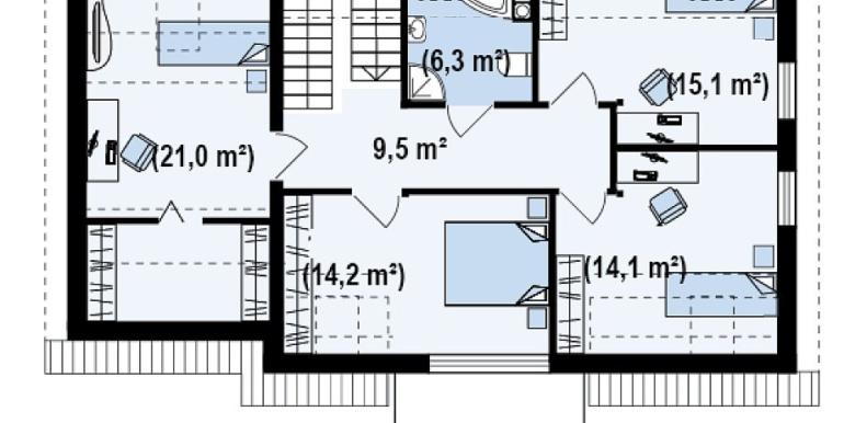 Proiect-casa-cu-Mansarda-si-Garaj-126011-mansarda