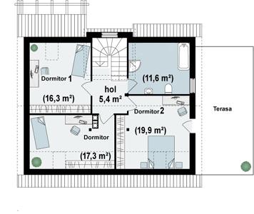 Proiect-casa-cu-Mansarda-si-Garaj-127011-mansarda