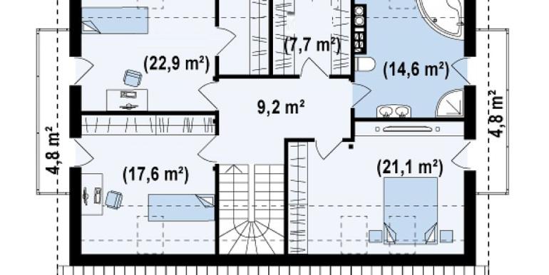 Proiect-casa-cu-Mansarda-si-Garaj-133011-mansarda