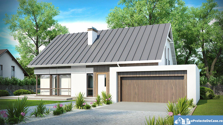 Proiect de casa cu parter 128
