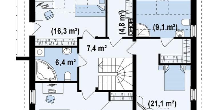 Proiect-casa-cu-Mansarda-si-Garaj-147011-mansarda