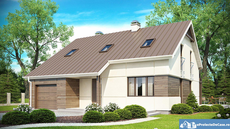 Proiect de casa cu mansarda 151