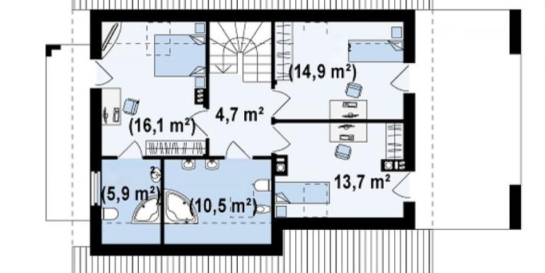 Proiect-casa-cu-Mansarda-si-Garaj-149011-mansarda