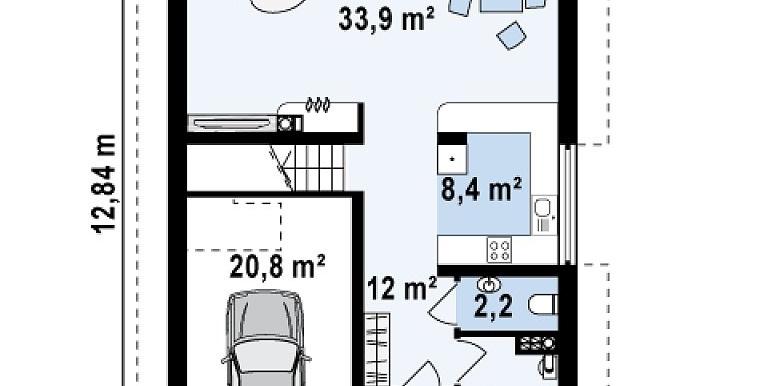 proiect-casa-cu-mansarda-si-garaj-154011-parter