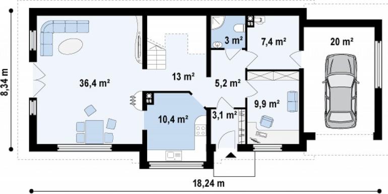 Proiect-casa-cu-Mansarda-si-Garaj-157011-3