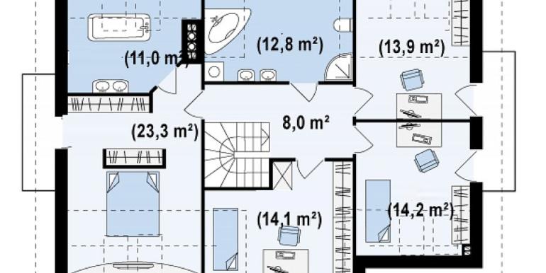 Proiect-casa-cu-Mansarda-si-Garaj-172011-mansarda